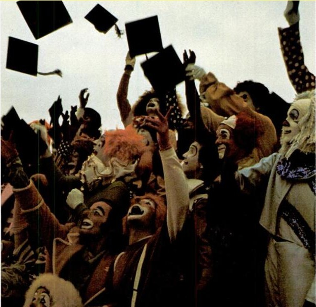 Class of 1974 Clown College Graduation